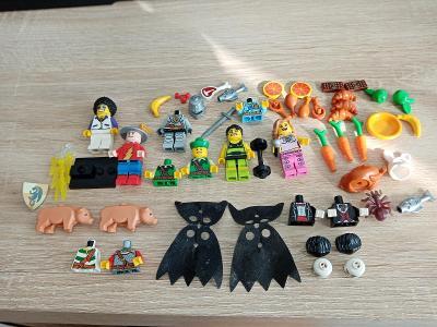 Lego zbytky figurek a dalšíc
