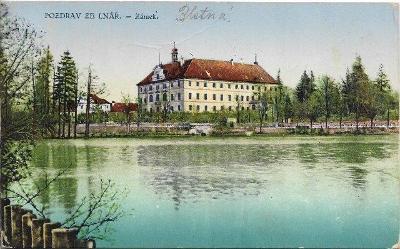 Lnáře - Zámek , okr. Strakonice
