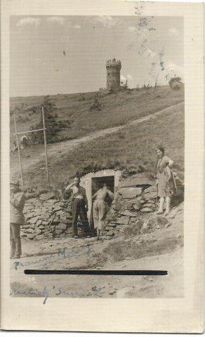 Kralický Sněžník - fotopohlednice , okr. Ústí nad Orlicí