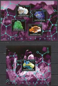 SAR-Minerály 2014**  1Klb.+1Bl. / Mi.30 €