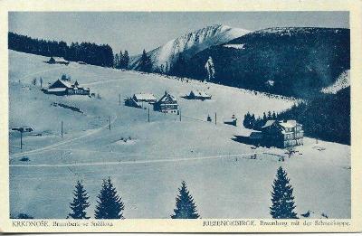Krkonoše - Braunberk se Sněžkou