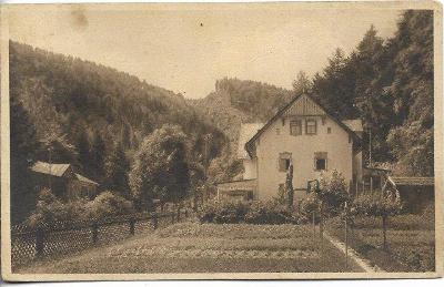 Krebsgrund bei Jauernig - Račí údolí , Javorník , okr. Jeseník