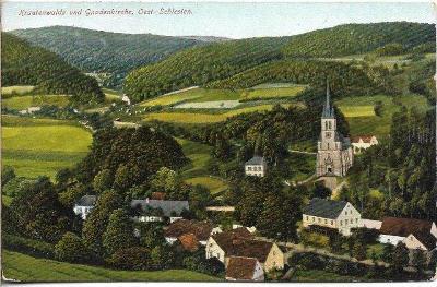 Krautenwalde bei Jauernig - Travná , okr. Jeseník
