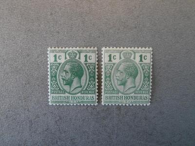 Br. Honduras 1913 *
