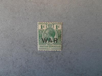 Br. Honduras 1918 *