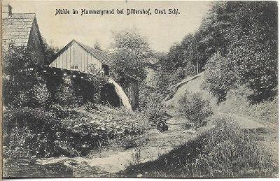 Hammergrund bei Dittershof - Dětřichov , okr. Jeseník