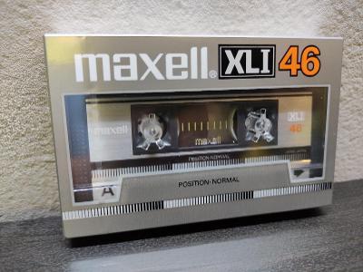 Maxell XLI 46 ,sbírková audiokazeta rok 1985 pro jap.trh