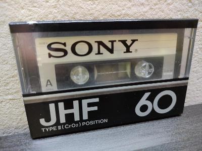 Sony JHF 60,sbírková audiokazeta,rok 1978 pro jap.trh