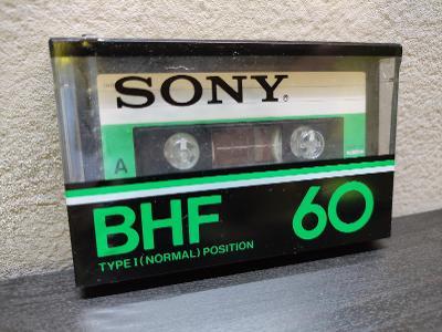 Sony BHF 60,sbírková audiokazeta,rok 1978 pro jap.trh