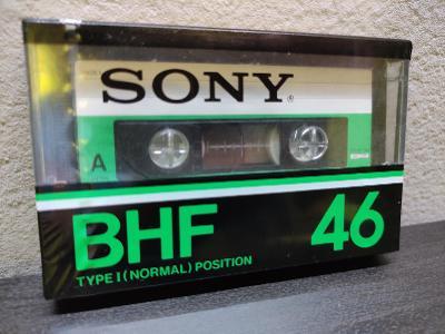 Sony BHF 46,sbírková audiokazeta,rok 1978 pro jap.trh