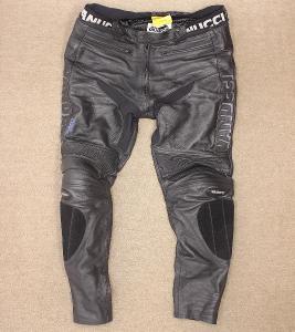 Pánské kožené motorkářské kalhoty VANUCCI vel. XL/56 #5b38