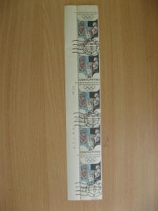Rohová svislá PĚTIPÁSKA 1671 - XIX. Letní OH Mexico 1968 - TD1