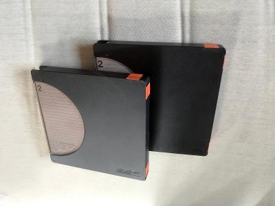 Dvě magnetofonové pásky AGFA-GEVAERT