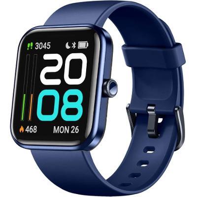 Nové smart hodinky Lifebee . Modrá barva, velký displej. Aukce od 1Kč