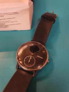 Withings Steel HR - hybridní chytré hodinky, 3 týdny na jedno nabití