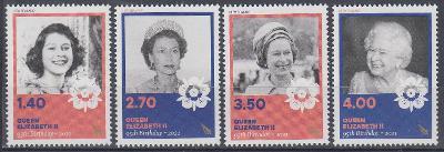 ** Nový Zéland - Narozeniny Královny Alžběty II. (série 4 známek)
