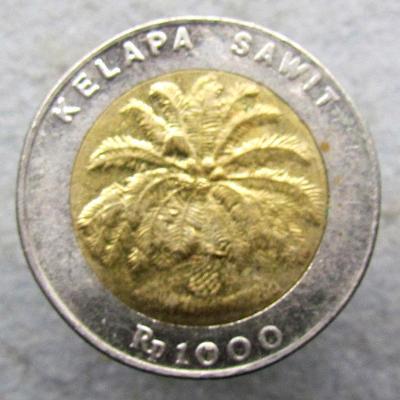 Indonésie 1000 rupií 1996