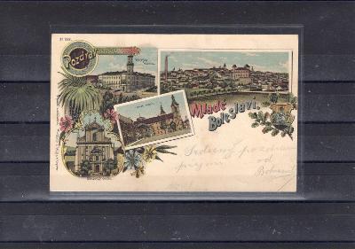 1102 pohlednice Mladé Boleslavy