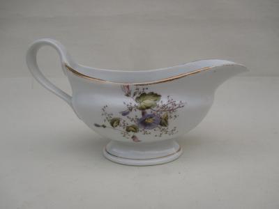 Starý porcelánový omáčník zn. 2572
