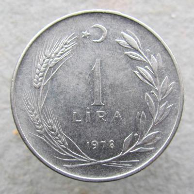 Turecko 1 lira 1978