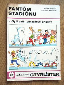 Čtyřlístek č. 57 Fantóm stadiónu 1977, Čtyřlístky