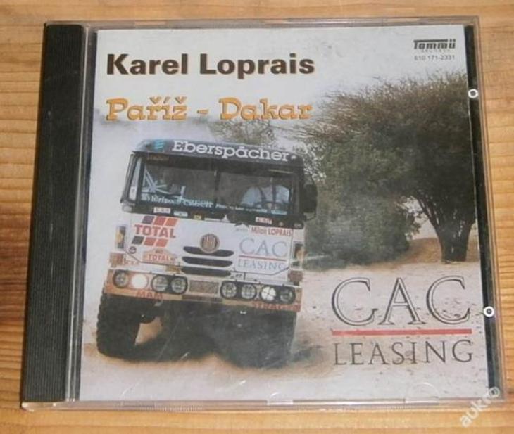 CD - Karel Loprais - Paříž - Dakar - Hudba