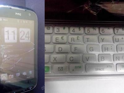 HTC Touch PRO 2 mobil,komunikátor (má klávesnici) plně funkční, pavouk