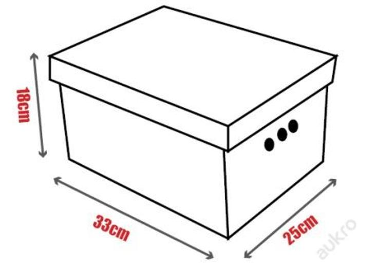 Dekorativní krabice SAFARI A4_ úložný box _ (2900) - Dětský pokoj