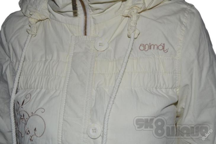 Kabát zimní ANIMAL- vel.M - nové, výprodej obchodu - Dámské oblečení