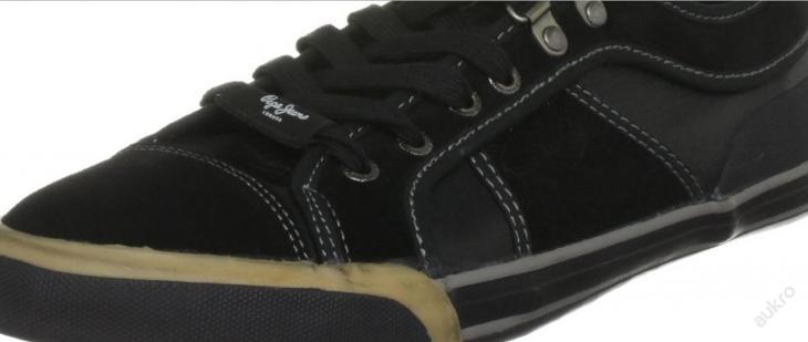 Kožené PEPE JEANS LONDON EUR 45 v poslední velikosti - Pánské boty