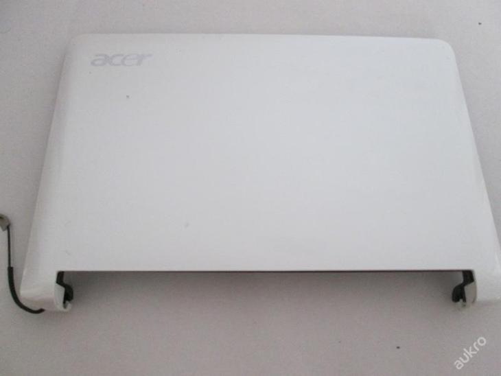 Kryt displeje z Acer Aspire one ZG5 - Notebooky, příslušenství