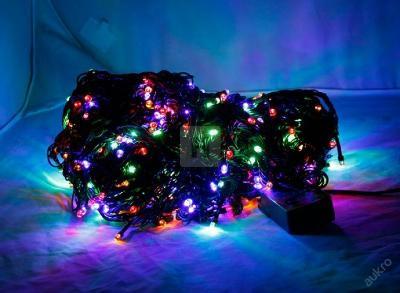 Vánoční Osvětlení 500 LED MULTICOLOR 41m + program