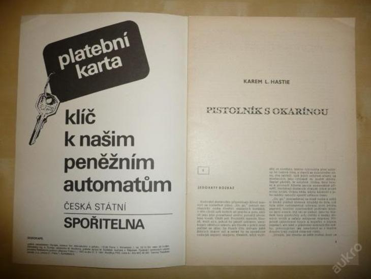 Časopis - DODOKAPS - č.17. (10/1991) - Pistolník s - Knihy