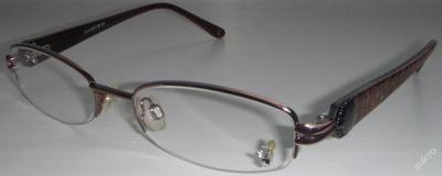 PLAYBOY PB117 dámské brýle / poloobruby 52-18-138 MOC: 2000 Kč