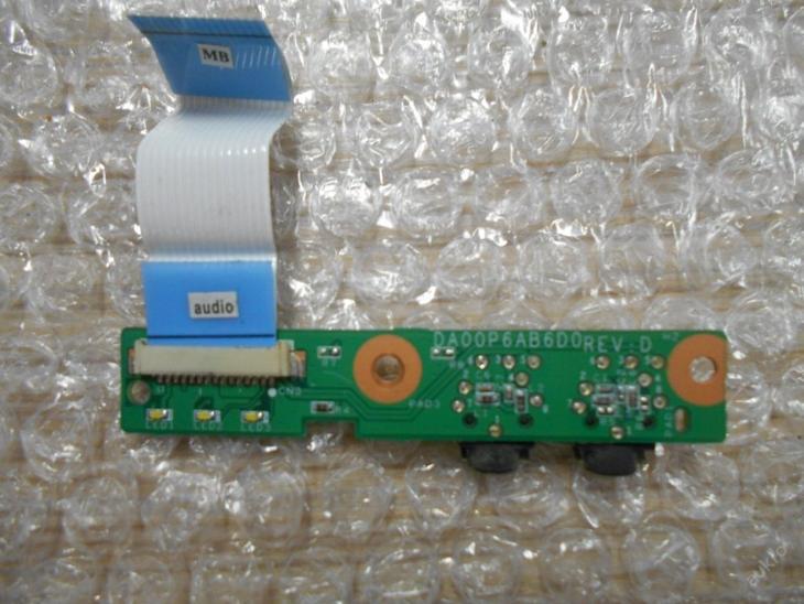 Audio board HP Presario CQ61-310EC - Notebooky, příslušenství
