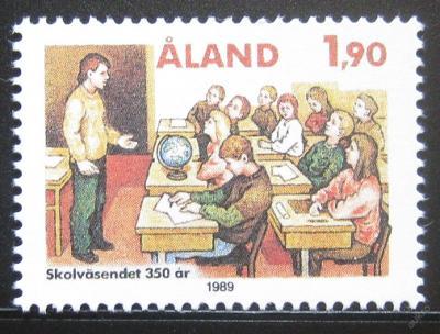 Alandy 1989 Vzdělávací systém Mi# 36 0378