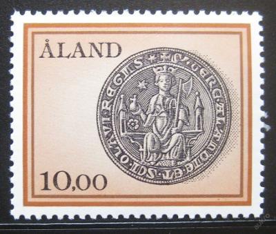 Alandy 1984 Pečeť svatého Olafa Mi# 176 0380