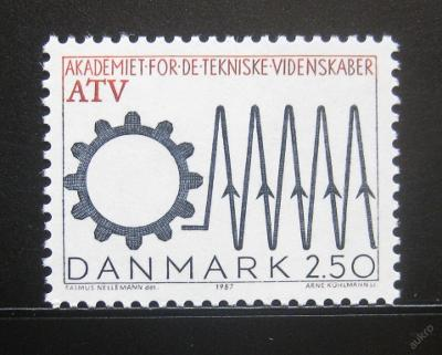 Dánsko 1987 Akademie technických věd Mi# 894 0779