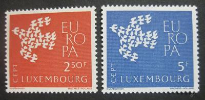 Lucembursko 1961 Evropa CEPT Mi# 647-48 0003