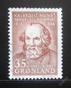 Grónsko 1964 Samuel Kleinschmidt Mi# 64 0654