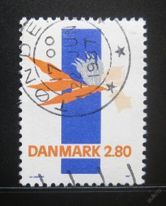 Dánsko 1987 Abstraktní umění Mi# 889 0787