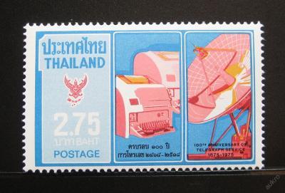 Thajsko 1975 Telegrafní systém Mi# 782 0661