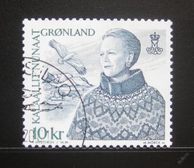 Grónsko 2000 Královna Margrethe Mi# 354 0653