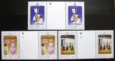 Šalamounovy o. 1977 Alžběta II. Mi# 331-33 0162