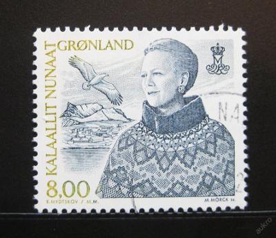 Grónsko 2000 Královna Margrethe Mi# 353 0984