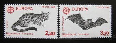 Francie 1986 Evropa CEPT Mi# 2546-47 5€ 0038