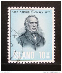 Island 1970 Grimur Thomsen Mi# 445 0057