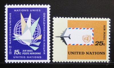 OSN New York 1964 Letecké Mi# 131-32 0052