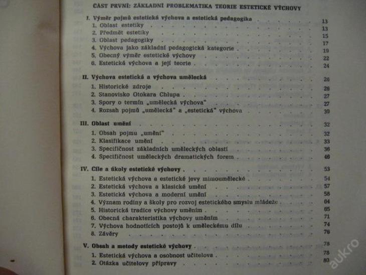 ÚVOD DO TEORIE ESTETICKÉ VÝCHOVY URBAN B. S.'70 UK - Knihy