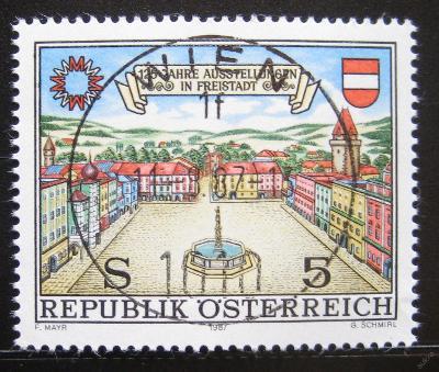 Rakousko 1987 Výstava ve Freistadtu Mi# 1893 0751